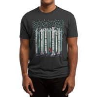 The Birches (Black Variant) - mens-triblend-tee - small view