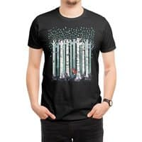 The Birches (Black Variant) - mens-regular-tee - small view