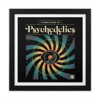 A Fool's Guide to Psychedelics - black-square-framed-print - small view