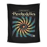 A Fool's Guide to Psychedelics - indoor-wall-tapestry-vertical - small view