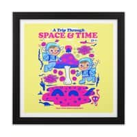 A Trip Through Space and Time - black-square-framed-print - small view