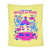 A Trip Through Space and Time - indoor-wall-tapestry-vertical - small view