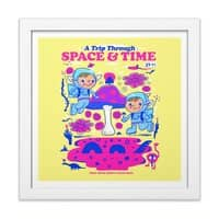 A Trip Through Space and Time - white-square-framed-print - small view