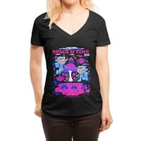 A Trip Through Space and Time - womens-deep-v-neck - small view