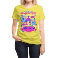 A Trip Through Space and Time - womens-regular-tee - small view