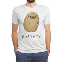 Pugtato - mens-triblend-tee - small view