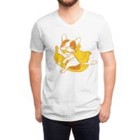 Fun Ride with Frenchie Banana Rider - vneck - small view