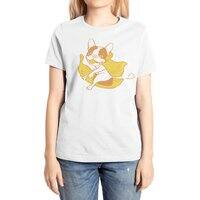 Fun Ride with Frenchie Banana Rider - womens-extra-soft-tee - small view