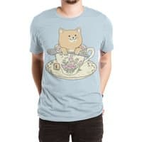 Tea cat time - mens-extra-soft-tee - small view
