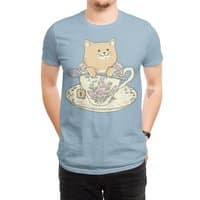 Tea cat time - mens-regular-tee - small view