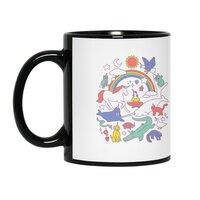 Unicorns! - black-mug - small view