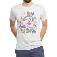 Unicorns! - mens-triblend-tee - small view