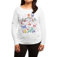 Unicorns! - womens-long-sleeve-terry-scoop - small view