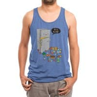 Get in my belly - mens-triblend-tank - small view