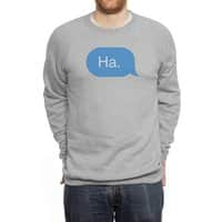 Ha. - crew-sweatshirt - small view