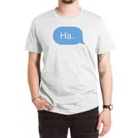 Ha. - mens-extra-soft-tee - small view