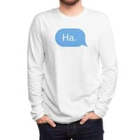 Ha. - mens-long-sleeve-tee - small view
