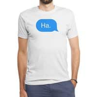 Ha. - mens-triblend-tee - small view