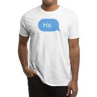 Ha. - mens-regular-tee - small view