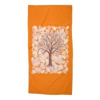 Loose Leaf - beach-towel - small view