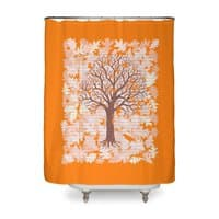 Loose Leaf - shower-curtain - small view