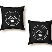 Nap Outside - throw-pillow - small view
