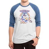 The Future That Cats Want - triblend-34-sleeve-raglan-tee - small view