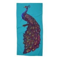Peacock - beach-towel - small view
