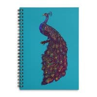 Peacock - spiral-notebook - small view