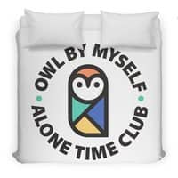 Owl By Myself - duvet-cover - small view