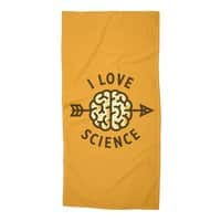 I love science - beach-towel - small view