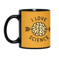 I love science - black-mug - small view