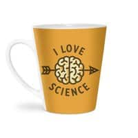 I love science - latte-mug - small view