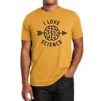 I love science - mens-extra-soft-tee - small view