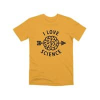 I love science - mens-premium-tee - small view