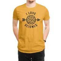 I love science - mens-regular-tee - small view