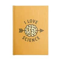 I love science - notebook - small view