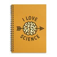 I love science - spiral-notebook - small view