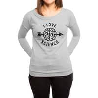 I love science - womens-long-sleeve-terry-scoop - small view