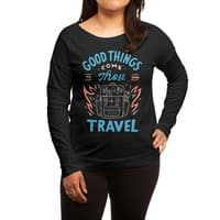 Good Things - womens-long-sleeve-terry-scoop - small view