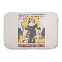 Nunchuck Nun - bath-mat - small view