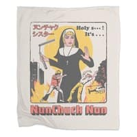 Nunchuck Nun - blanket - small view