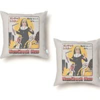 Nunchuck Nun - throw-pillow - small view