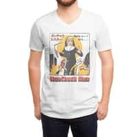 Nunchuck Nun - vneck - small view