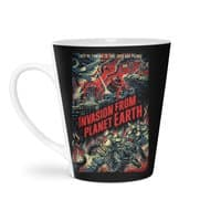 Invasion from planet Earth - latte-mug - small view