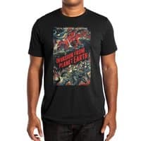 Invasion from planet Earth - mens-extra-soft-tee - small view