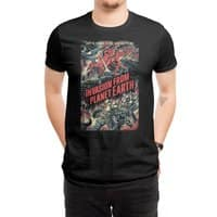 Invasion from planet Earth - mens-regular-tee - small view
