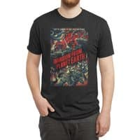 Invasion from planet Earth - mens-triblend-tee - small view