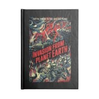 Invasion from planet Earth - notebook - small view
