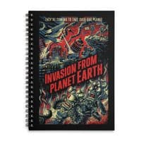 Invasion from planet Earth - spiral-notebook - small view